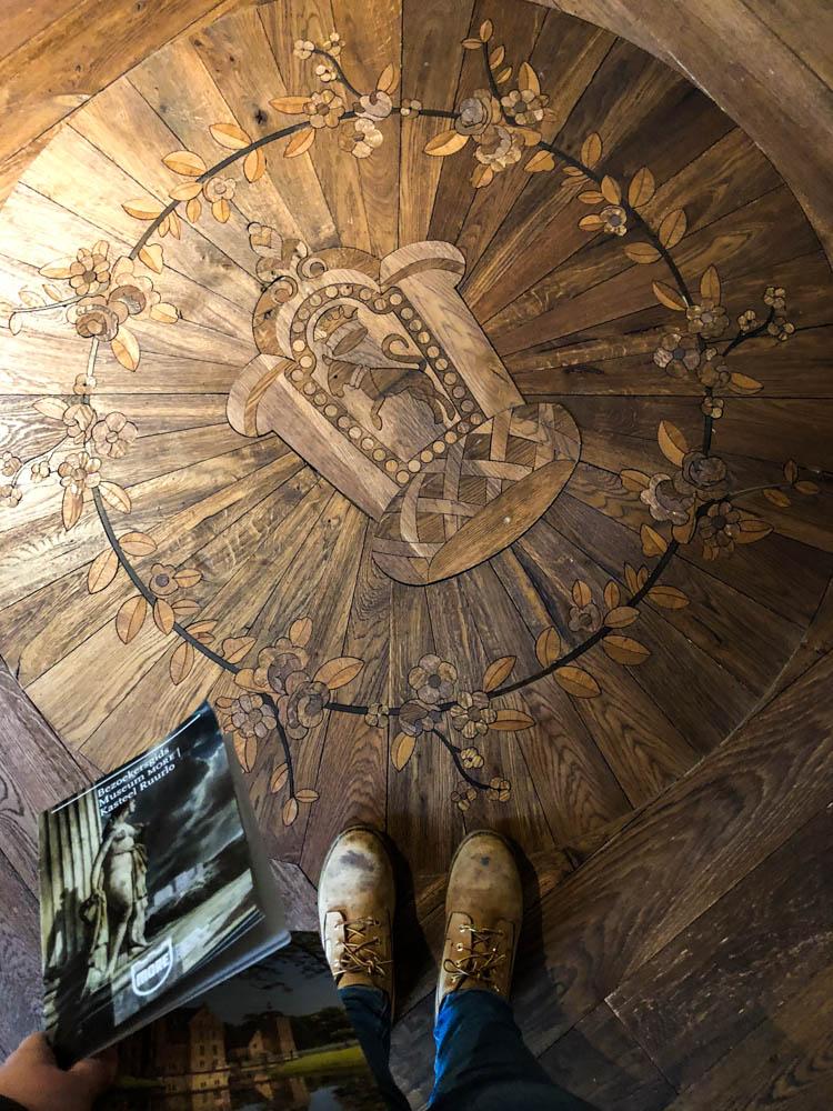 Detail van de vloer van Museum MORE - Ruurlo