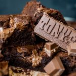 Brownies met Tony's Chocolonely Salted Caramel
