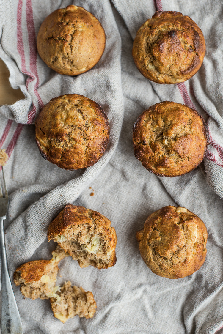 Bananabread muffins