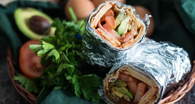 Tex Mex Breakfast Burrito