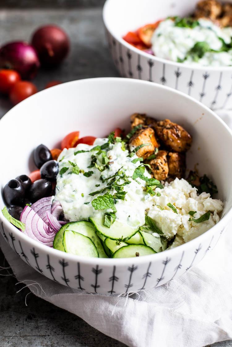 Tzatziki bowl