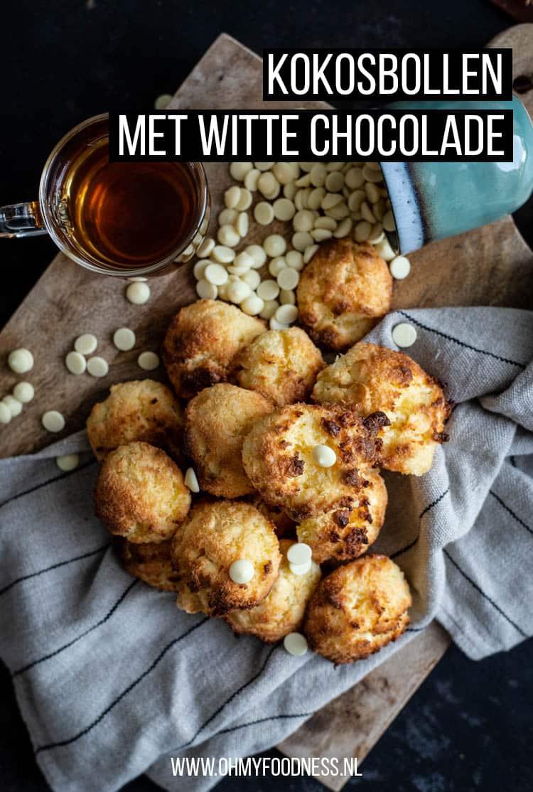Kokosbollen met witte chocolade