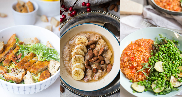 MEGA plantaardig weekmenu (lunch + diner)