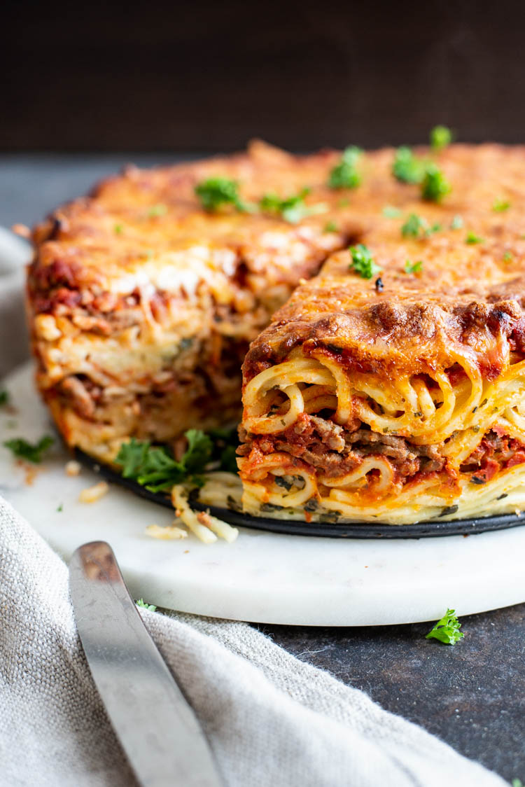 Spaghetti-taart