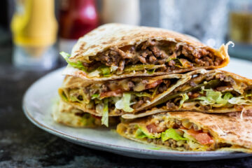 Cheeseburger Quesadilla's