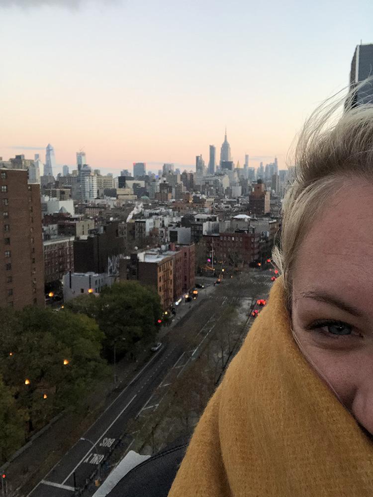 Alleen naar NYC