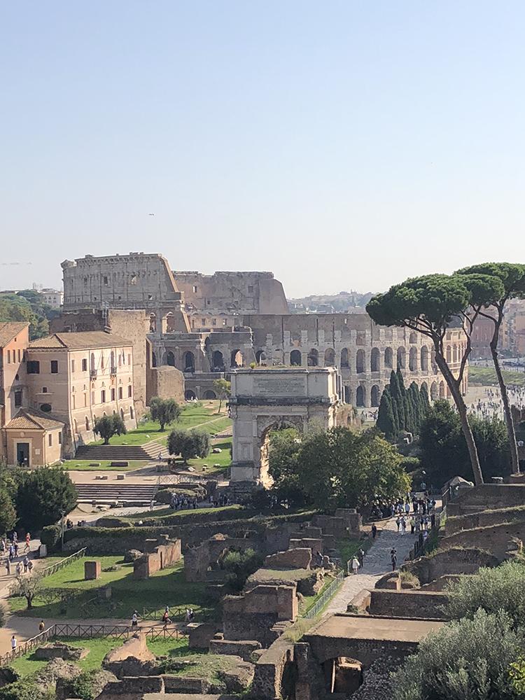 Colosseum - Forum Romanum