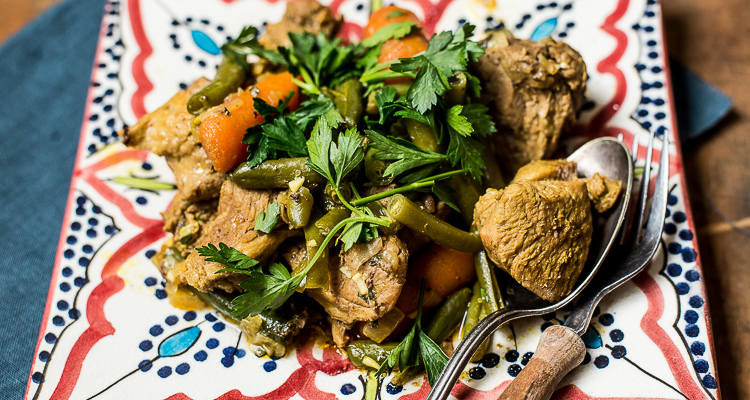 Marokkaanse lamsstoof