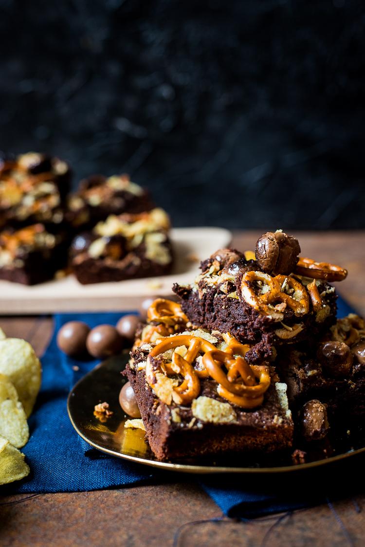 Compost fudgy brownies