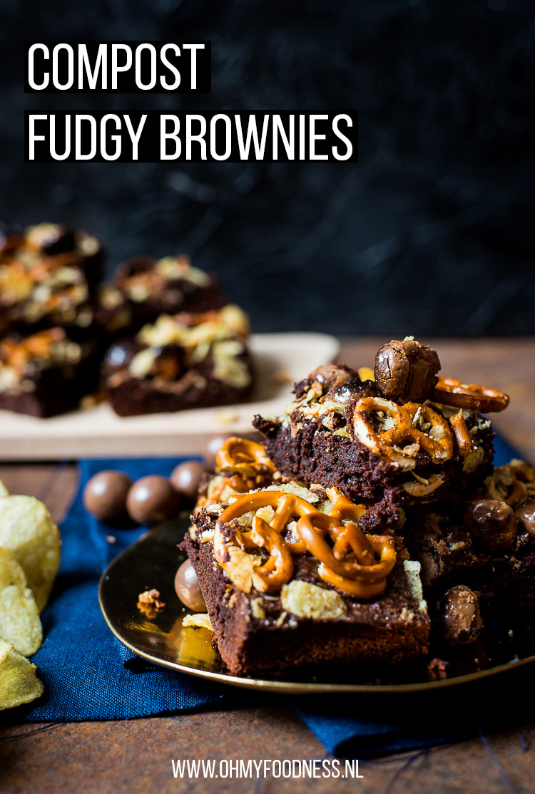 Compost fudgy brownies