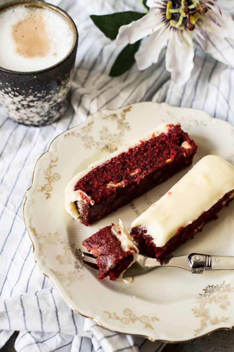 Red Velvet & Witte chocolatechip repen met creamcheese