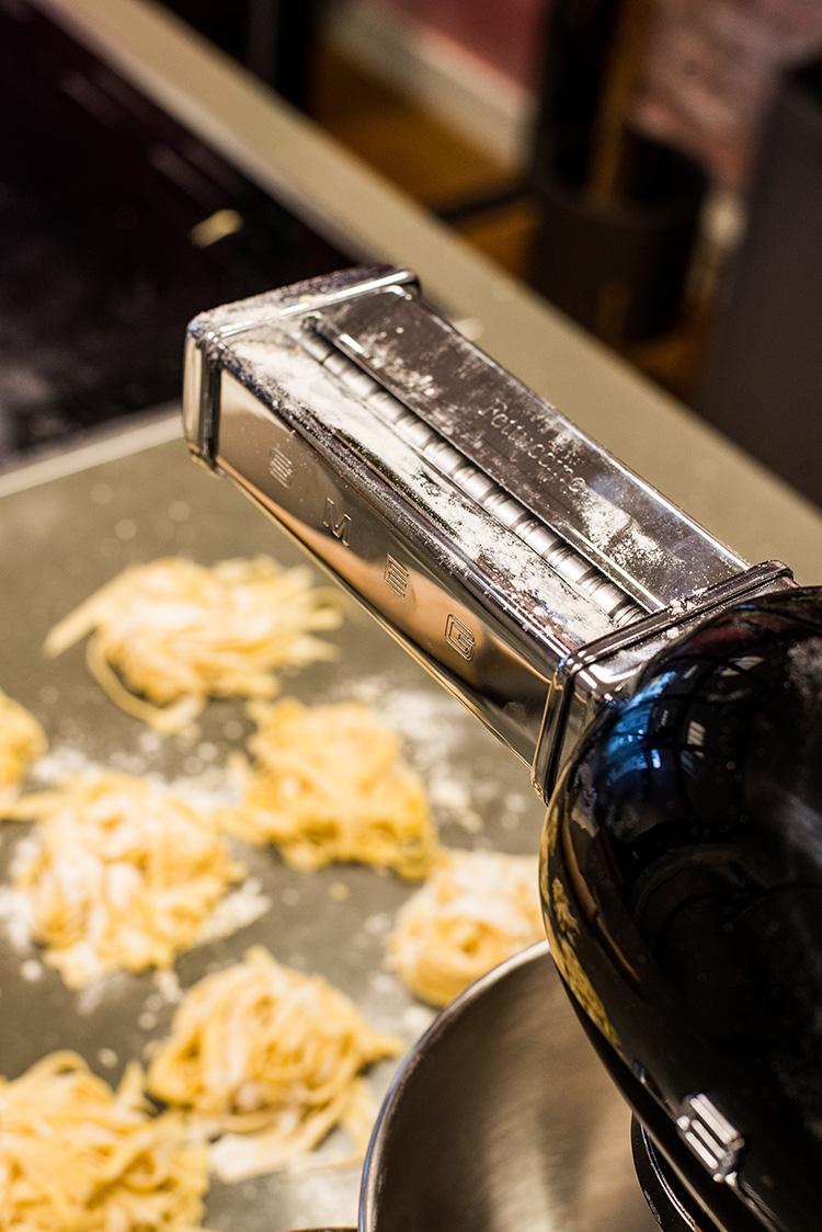 Zelf pasta maken, pastamachine Smeg