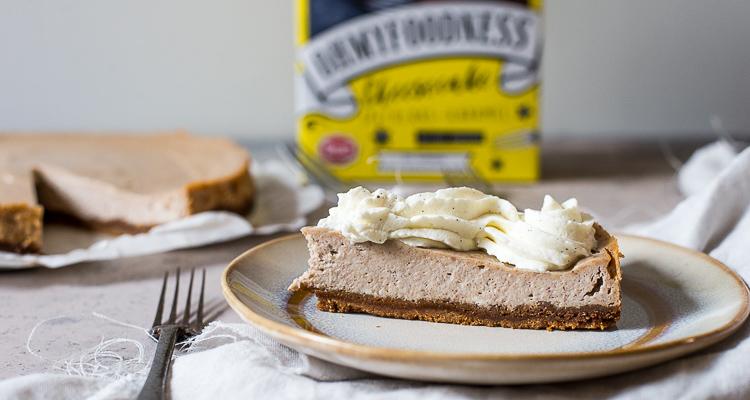 Speculaas-karamelcheesecake