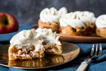 Appelkruimeltaartcupcakes