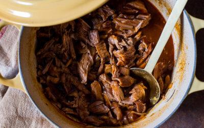 Pulled pork uit de oven