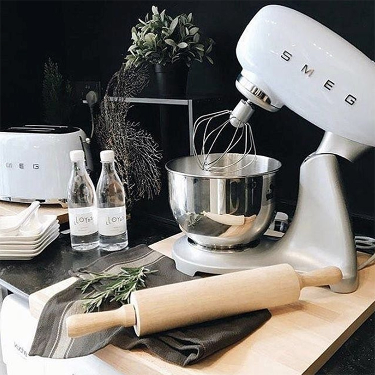 Keukenmachine SMEG blauw