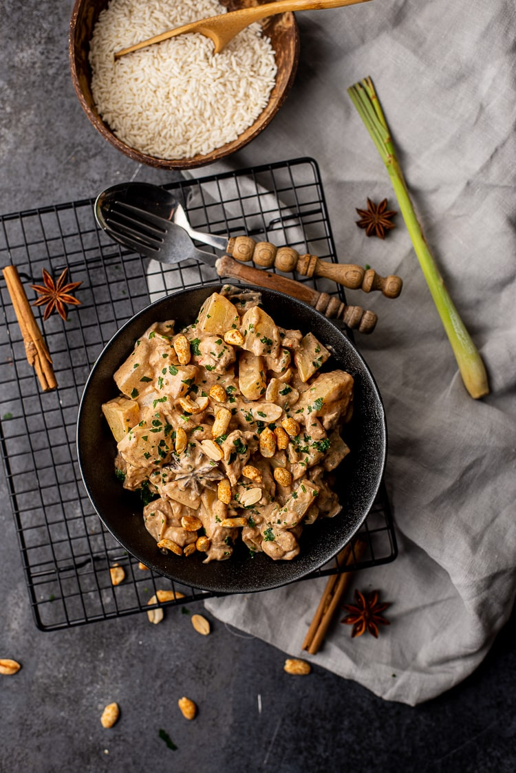 Thaise massaman curry