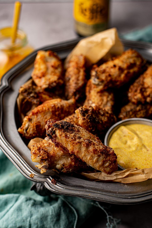 krokante chickenwings uit de Airfryer